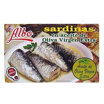 Albo Sardinas en aceite de oliva virgen extra Lata 85 g peso neto escurrido