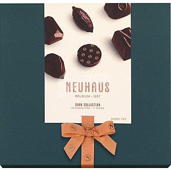 Neuhaus Dark colección bombones surtidos de chocolate negro 25 unidades Caja 290 g