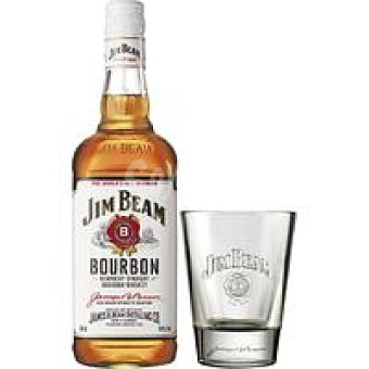 Jim Bean Whisky Botella 70 cl + Vaso