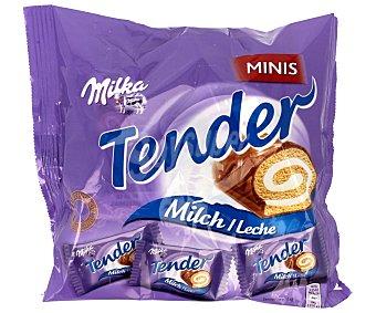 MILKA Tender Mini pastelitos de chocolate con leche Bolsa 150 g