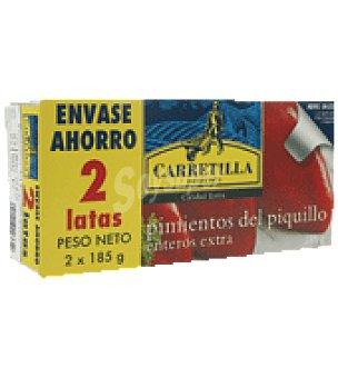Carretilla Pimiento piquillo fiesta Pack de 2x150 g