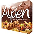 Barritas de cereales con fruta y nueces cubiertas de chocolate con leche Estuche 145 g Alpen