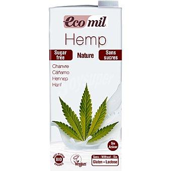 ECOMIL Bio Natural Bebida de cáñamo sin azúcar sin gluten y sin lactosa ecológica envase 1 l Envase 1 l