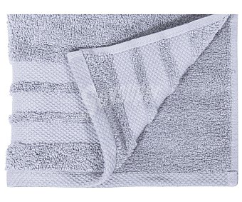 Actuel Toalla para lavabo 100% algodón color gris, densidad de 500 gramos/metro², 50x100 centímetros 1 unidad