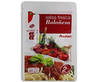 Auchan Salsa boloñesa 200 gramos