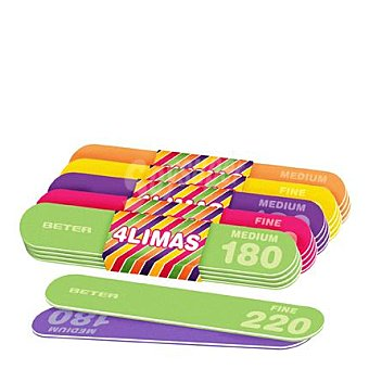 Beter Lima fibra de colores 4 ud