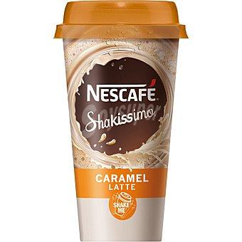 Nescafé Shakissimo Café con leche y caramelo Envase 190 ml