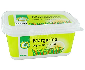Productos Económicos Alcampo Margarina vegetal Tarrina de 500 gramos