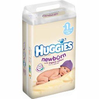 Huggies Pañal Recièn Nacido Talla 1 Paquete 54 unid