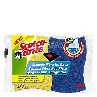 Scotch Brite Esponja no raya Pack 2 unid