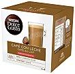 Café con leche descafeinado ápsulas Caja 16 c Dolce Gusto Nescafé