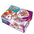 Cono Pivot de helado de nata y fresa Pack 4 x 70 g Kalise