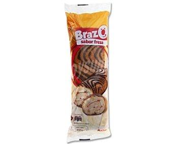 Auchan Brazo sabor fresa 200 Gramos
