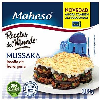 MAHESO mussaka lasaña de berenjena 300 gr