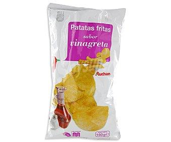 Auchan Patatas fritas con sabor vinagreta 160 gramos
