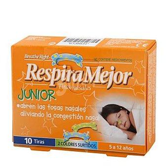 Breathe Right Tiras nasales junior 10 ud