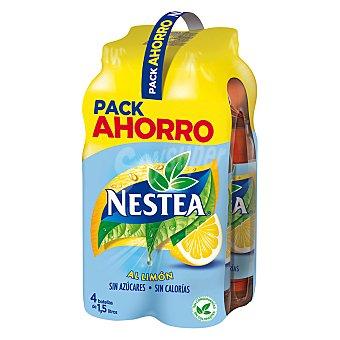 Nestea Refresco de té al limón light Pack 4x1,5 l