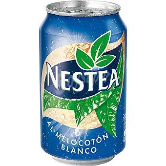 Nestea refresco de té al melocotón blanco  lata 33 cl