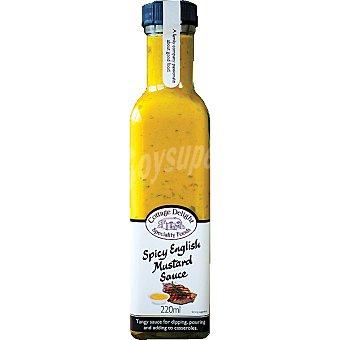 COTTAGE DELIGHT Salsa de mostaza inglesa picante Envase 220 ml