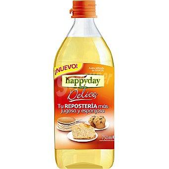 KOIPESOL happyday Delice aceite refinado de girasol especial respostería  botella 750 ml