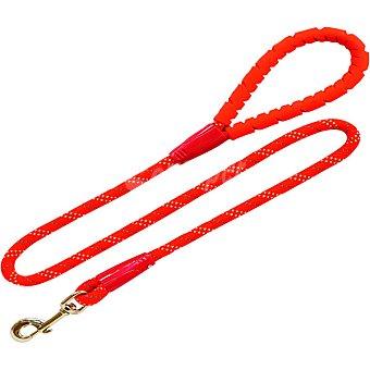 Arppe Correa para perros de nylon redondo rojo 120 cm 1 unidad 1 unidad