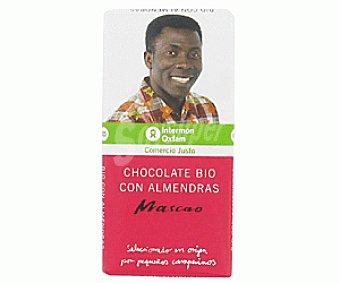 Intermón Oxfam Chocolate Ecológico con Almendras Choc. c/almedras Eco100g