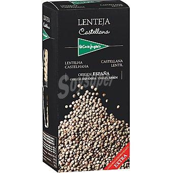 El Corte Inglés Lenteja castellana extra 2 x 250 g envase 500 g 2 x 250 g