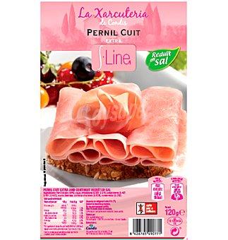 S.line Jamón cocido bajo sal 120 g