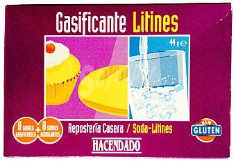 Hacendado Gasificante reposteria 8 sobres 44 g