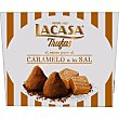 Trufas de cacao puro al caramelo a la sal Estuche 200 g Lacasa