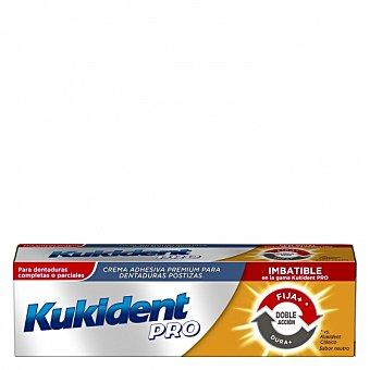 Kukident Crema adhesiva premium para dentaduras postizas 40 G 40 g