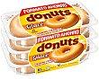 Donuts glaseado  6 unidades (288 g) Donuts
