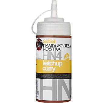 HAMBURGUESA NOSTRA Salsa HN-4 ketchup curry Envase 250 g