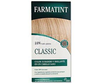 Farmatint Coloración en crema permanente 10-N rubio platino 155 mililitros