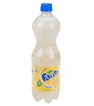 Fanta Refresco de limón Botella 1 litro