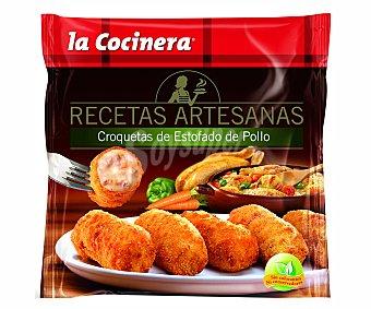 La Cocinera Croquetas de estofado de pollo Bolsa 500 g
