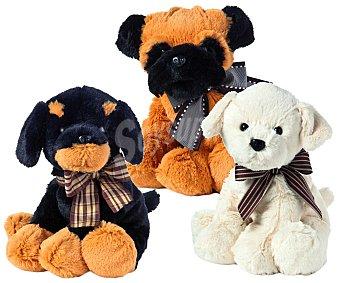RIK & ROK Perros de Raza de Peluche de 25 Centímetros 1 Unidad