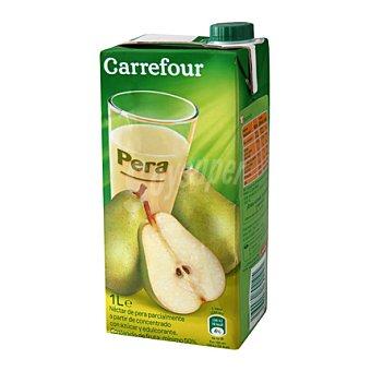 Carrefour Néctar de pera brick de 1 L