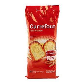 Carrefour Pan tostado normal 80 ud