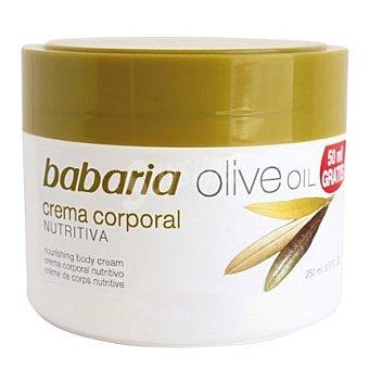 Babaria Crema corporal nutritiva Oliva 250 ml