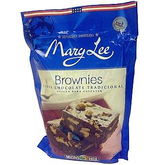 MARY LEE Preparado para cocinar brownies de chocolate paquete 291 g