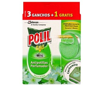 Polil Raid Antipolilla frescor ropa 3+1 Unidad