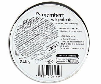 AUCHAN Queso camembert 240 gramos