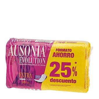 Ausonia - Evolution Compresa para pequeñas perdidas de orina Extra 20 ud
