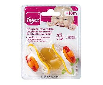 TIGEX Chupete látex reversible tigex