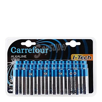 Carrefour Pilas alcalinas AA (LR06) 30 ud