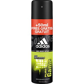 Adidas Desodorante masculino pure game spray 150 ml