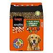 Comida perro seca mix con buey, pollo, verduras y arroz adulto razas medianas y grandes Paquete 4 kg Compy