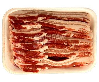 Panceta fresca familiar de cerdo blanco 850 Gramos Aproximados