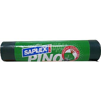Saplex Bolsas de basura eco pino 45x60 cm 30 L Paquete 15 bolsas